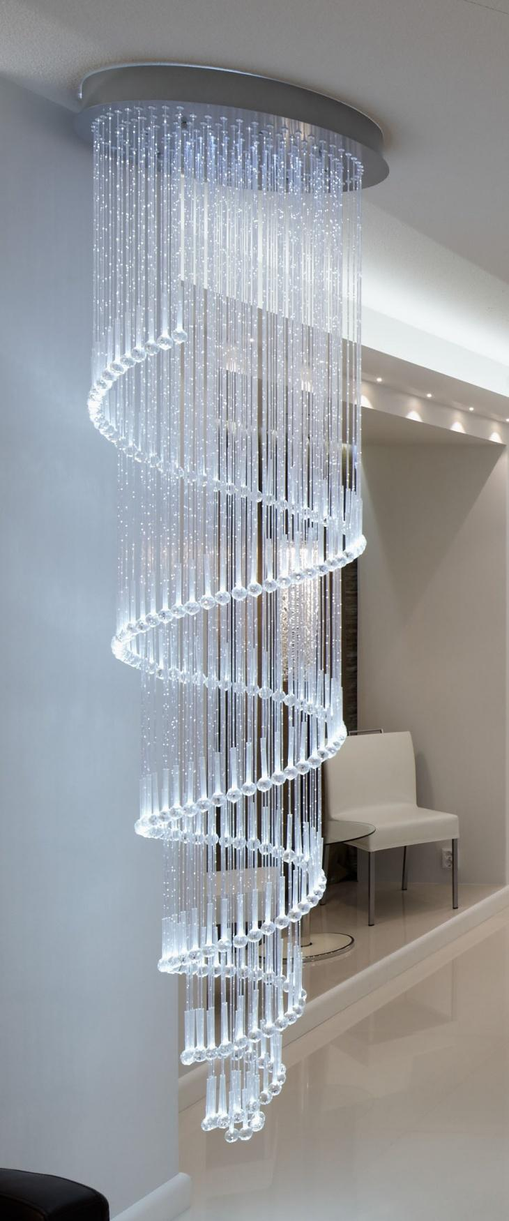 LED světla a lustry