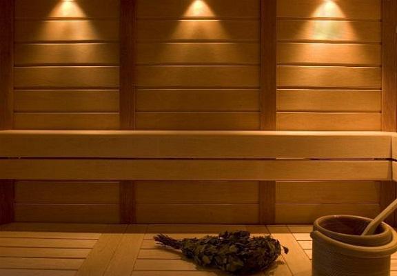 Ukázka klasického použití v sauně