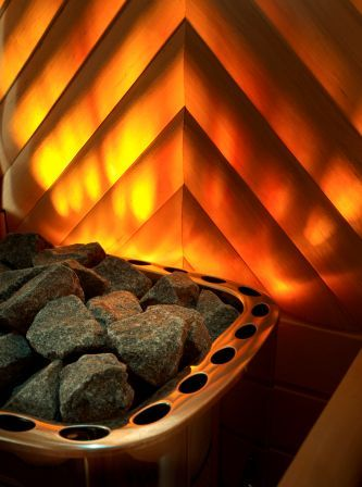 Osvětlení saun
