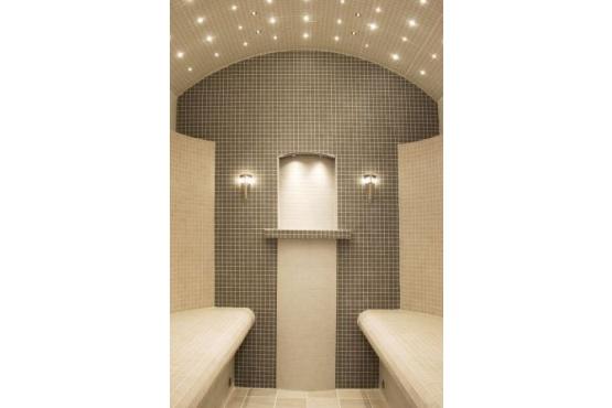 Osvětlení parní sauny